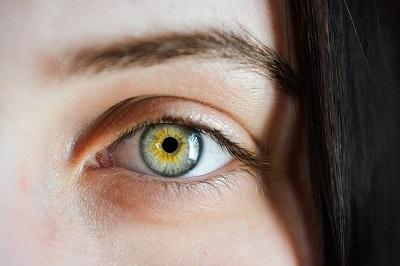 Korrektur des Augenlids
